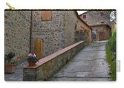 Steep Street In Montalcino Italy Carry-all Pouch