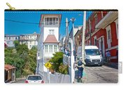 Steep Streets Up The Hills In Valparaiso-chile   Carry-all Pouch