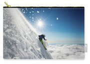 Steep Summer Volcano Skiing Carry-all Pouch