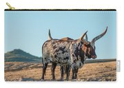 Steers In The Desert Carry-all Pouch