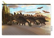 Stegosaurus Dinosaur Carry-all Pouch