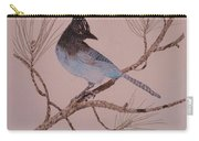 Stellar Jay On Ponderosa Branch Carry-all Pouch