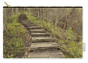 Step Trail In Woods 17 B Carry-all Pouch