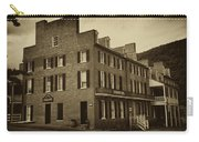 Stephensons Hotel - Harpers Ferry  West Virginia Carry-all Pouch