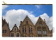 Stepped Gables Of The Brick Houses In Jan Van Eyck Square Carry-all Pouch