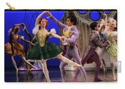Stepsister Ballerinas En Pointe And Guests Ballroom Dancing In B Carry-all Pouch