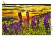 Steptoe Lupine  Carry-all Pouch