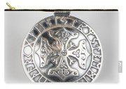 Sterling Silver Viking Celtic Cross Carry-all Pouch
