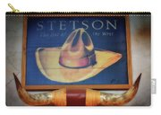 Stetson The Hat Of The West Signage Carry-all Pouch