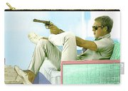 Steve Mcqueen, Colt Revolver, Palm Springs, Ca Carry-all Pouch
