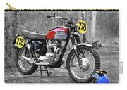 Steve Mcqueen Isdt 1964 Carry-all Pouch