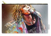 Steven Tyler 02  Aerosmith Carry-all Pouch