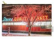 Steves Market Snowstorm Salem Ma Carry-all Pouch