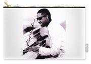 Stevie Wonder Autographed Carry-all Pouch