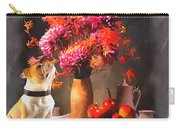 Still - Floral And Fruit Carry-all Pouch