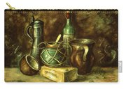 Still Life 72 - Oil On Wood Carry-all Pouch