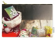Still Life Christmas Scene Carry-all Pouch