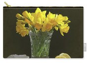 Still Life Daffodils Carry-all Pouch