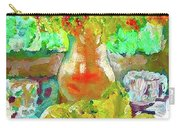Still Life Flower Carry-all Pouch