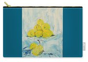 Still Life - Lemons Carry-all Pouch