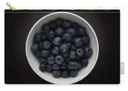 Still Life Of A Bowl Of Blueberries. Carry-all Pouch