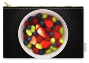 Still Life Of A Bowl Of Fresh Fruit Salad. Carry-all Pouch