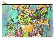 Still Life Of Flowers Carry-all Pouch