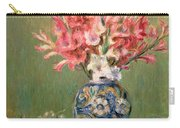 Still Life Of Fruits And Flowers Carry-all Pouch