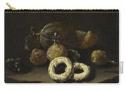 Still Life Of Sugared Fruits Carry-all Pouch