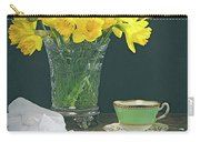 Still Life On Rustic Table Carry-all Pouch