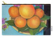 Still Life Oranges And Grapefruit Carry-all Pouch