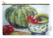 Still-life Pumpkin And Apples Carry-all Pouch