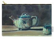 Still Life Teapot And Sugar Bowl Carry-all Pouch