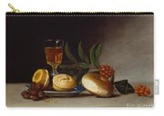 Still Life With A Wine Glass Carry-all Pouch