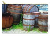 Still Life With Barrels Carry-all Pouch