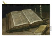 Still Life With Bible Nuenen, October 1885 Vincent Van Gogh 1853  1890 Carry-all Pouch