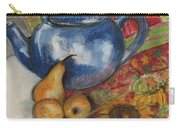 Still Life With Blue Teapot One Carry-all Pouch