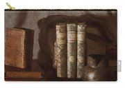 Still Life With Books Carry-all Pouch