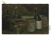 Still Life With Bottles And Earthenware Nuenen, November 1884 - April 1885 Vincent Van Gogh 1853  Carry-all Pouch