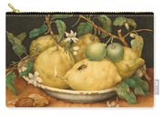 Still Life With Bowl Of Citrons Carry-all Pouch