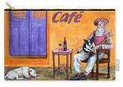Still Life With Dogs And Music Carry-all Pouch