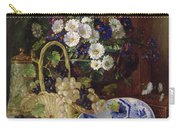 Still Life With Flowers And Fruit Carry-all Pouch