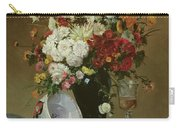 Still Life With Flowers And Pomegranates Carry-all Pouch