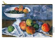 Still Life With Fruit Dish Carry-all Pouch