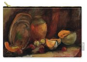 Still Life With Fruits And Pumpkin Carry-all Pouch