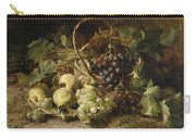 Still-life With Grapes And Pears Carry-all Pouch