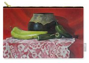 Still Life With Green Peppers Carry-all Pouch