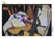 Still Life With Guitar Carry-all Pouch