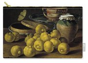 Still Life With Lemons And A Pot Of Honey Carry-all Pouch