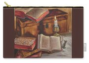 Still Life With Old Books Carry-all Pouch